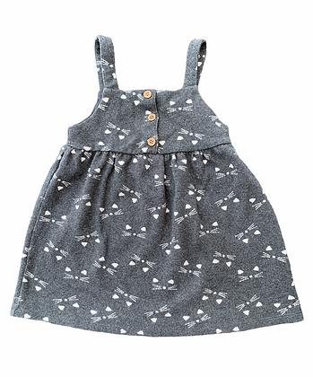 Kočičkové šaty s knoflíky, F&F, vel. 4-5y