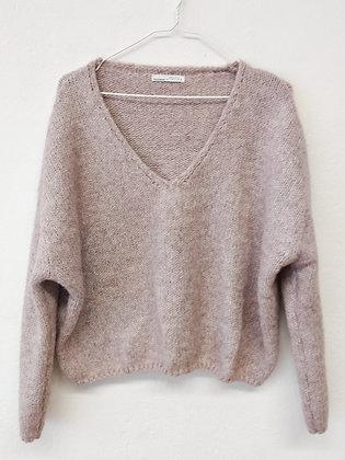 Starorůžový svetr, Pull&Bear, vel. L
