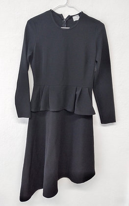 Černé šaty s volánem, ASOS, vel. 40