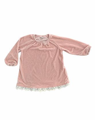 Sametové triko, LINDEX, vel. 12-18 m