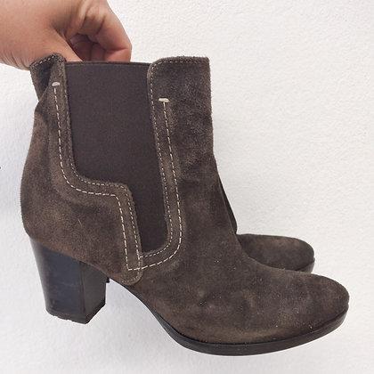Šemišové boty na podpatku, Baťa, vel. 37