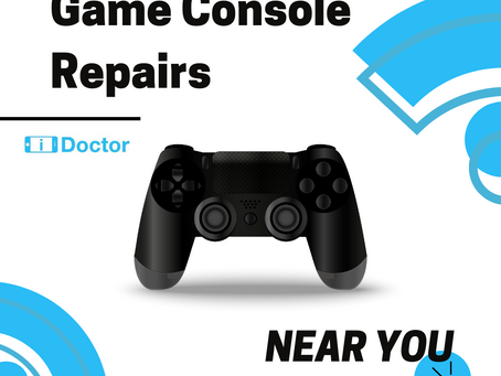 What to do When Your Game Console Breaks