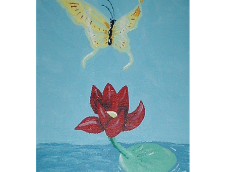 Guy The Butterfly poem and artwork by me