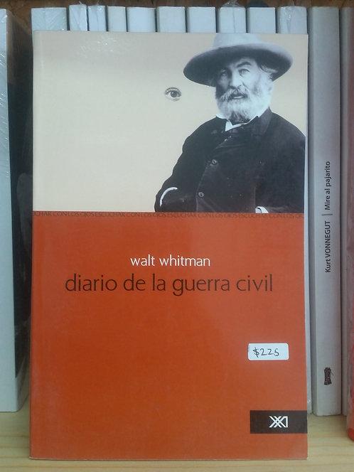 Diario de la guerra civil/Walt Whitman