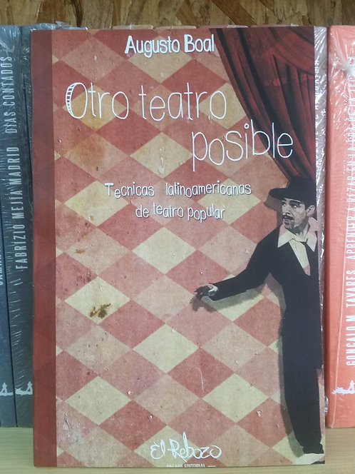 Otro teatro posible/Augusto Boal