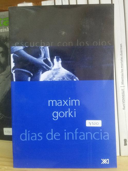 Días de infancia/Maxim Gorki