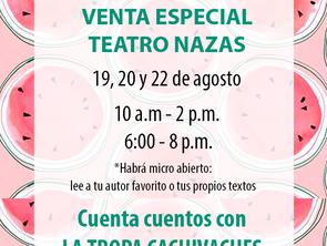 VENTA ESPECIAL: Teatro Nazas