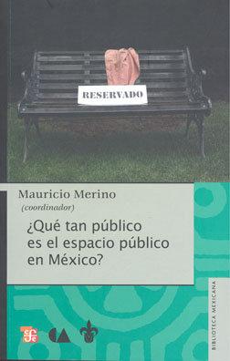 ¿Qué tan público es el espacio público en México?