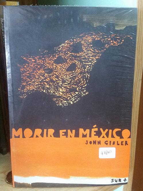 Morir en México/John Gibler