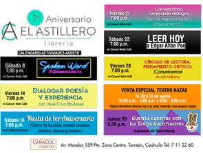 Eventos en el marco del 1er Aniversario de El Astillero