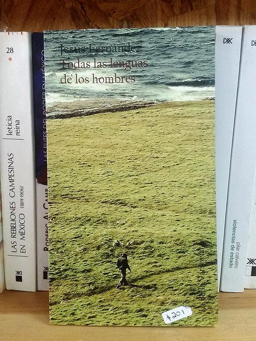 Todas las lenguas de los hombres/Jesús Fernández