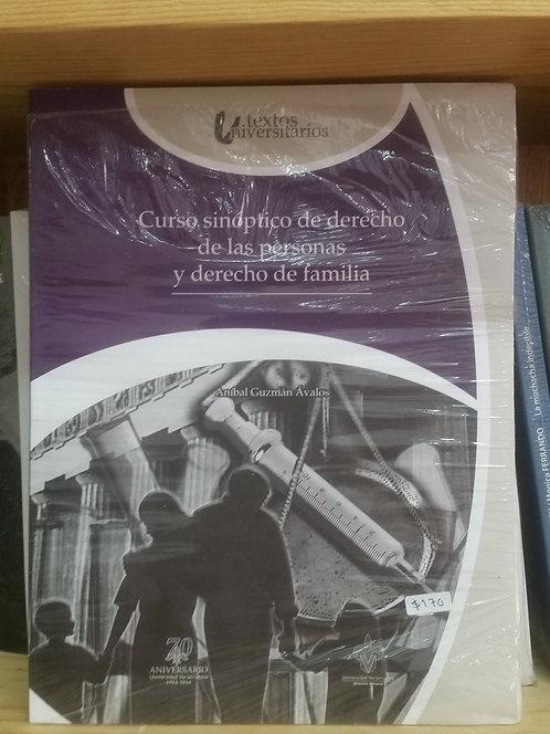 Cuadro sinóptico de derecho/Aníbal Guzmán Ávalos