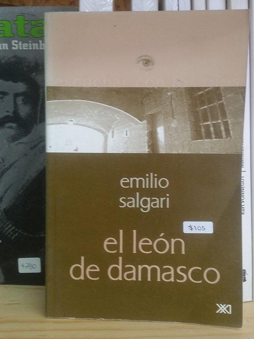 El león de damasco/Emilio Salgari