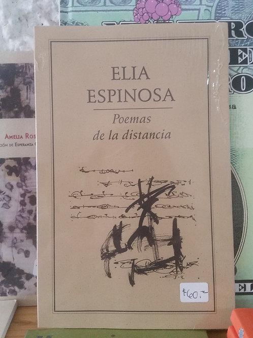 Poemas de la distancia/Ella Espinoza