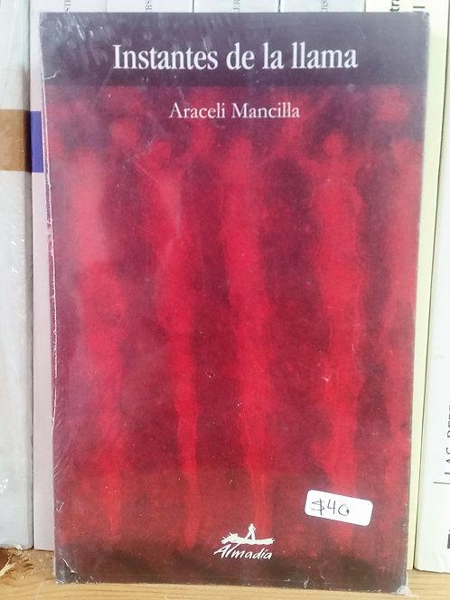 Instantes de la llama/Araceli Mancilla