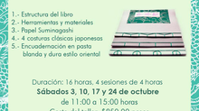 """Taller de encuadernación: """"El legado japonés en las artes del libro"""""""