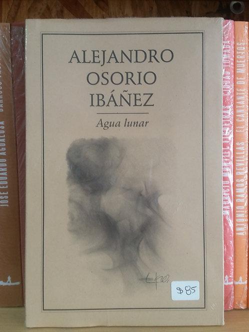Agua lunar/Alejandro Osorio Ibáñez