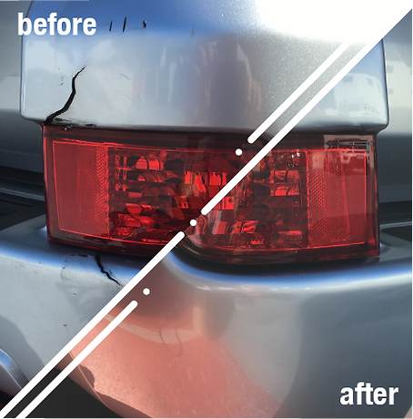 bumper repairs before and after