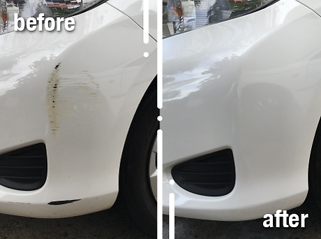 chips and scratches repair before and after