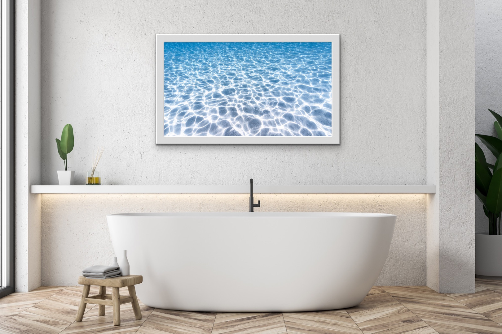 Clarity II (framed white)
