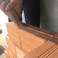 Massa Prática Betonex, argamassa de assentamento de tijolos cerâmicos e blocos de concreto