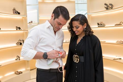 Rene Caovilla_Dubai Mall Store Event-898