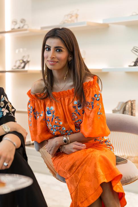 Rene Caovilla_Dubai Mall Store Event-822