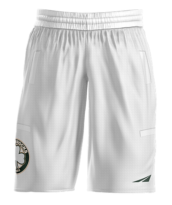 SHAMROCKS WHITE MEN'S SHORTS