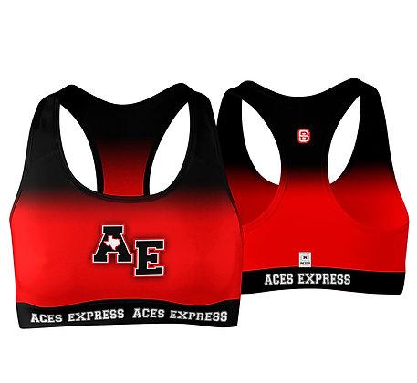 ACES EXPRESS FADE SPORTS BRA
