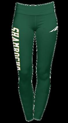 SHAMROCKS GREEN LEGGINGS