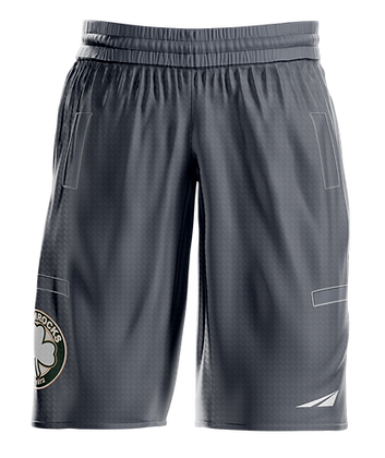 SHAMROCKS GREY MEN'S SHORTS