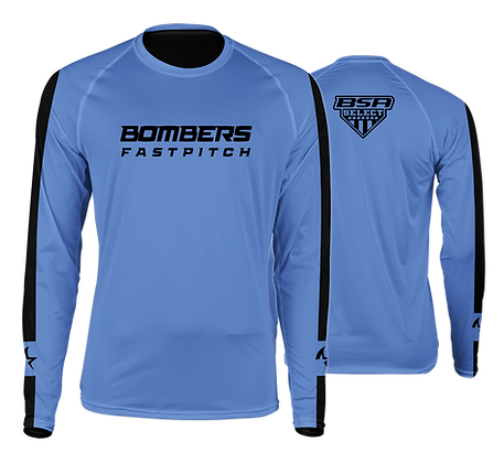 BOMBERS CAROLINA SHARK LONG SLEEVE