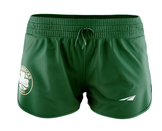 SHAMROCKS GREEN WOMAN'S SHORTS