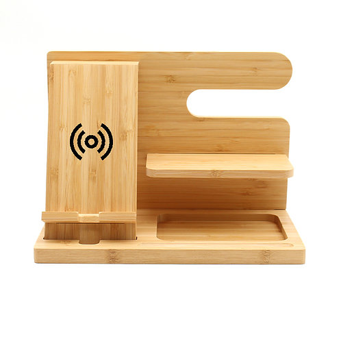 Bamboo Charger Stands