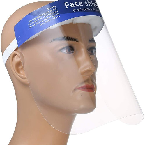Anti-fog safety protective face shield