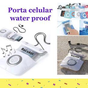 Mobile phone dry bag Bluetooth speaker
