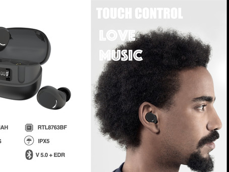 New Launched IPX5 waterproof TWS Bluetooth Earphone
