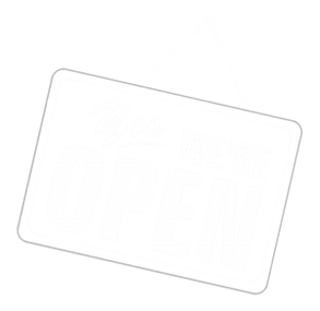 Yes we are open.png