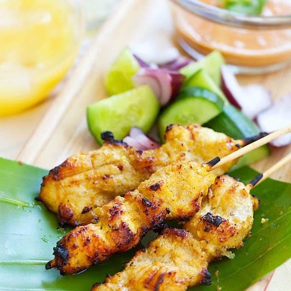 Chicken Satae