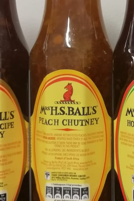 Mrs Balls Peach Chutney