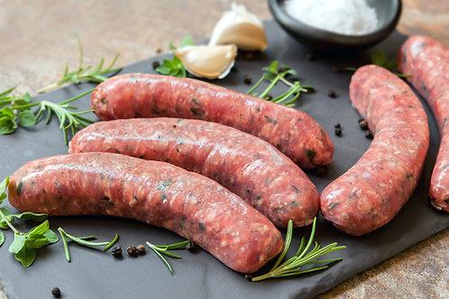 Wild Mushroom Sausages