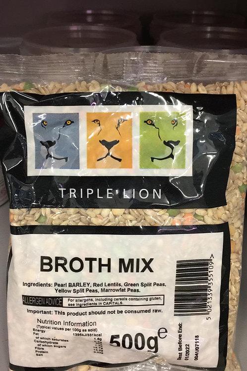 Broth Mix Triple Lion