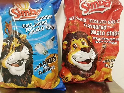 Simba Crisps Tomato Sauce