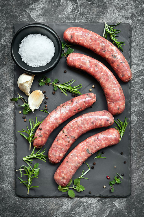 Beef & Cracked Pepper Sausage