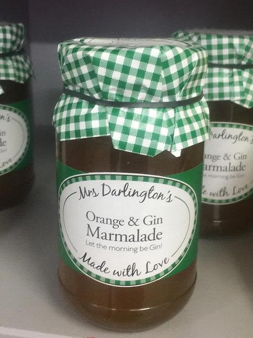 Mrs Darlington Orange & Gin Marmalade