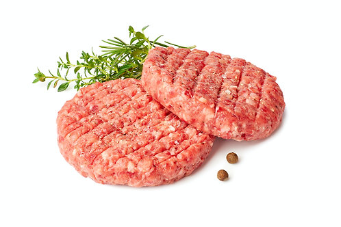 Pork & Apple Burgers 1/4lb