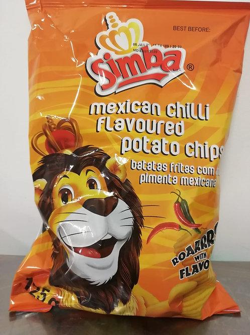 Simba Crisps Mexican Chilli