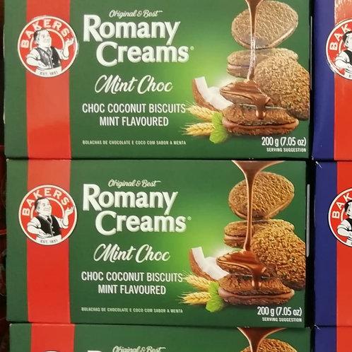 Romany Creams Mint Choc