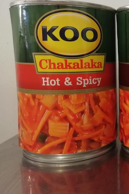 Koo Chakalaka Hot & Spicy
