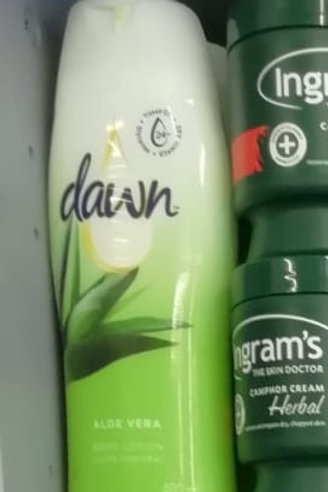 Dawn Lotion Green
